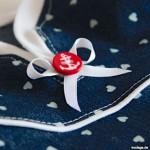 Ein maritimes Jeanskleidchen