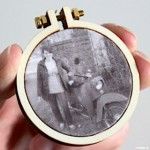 Poshys: Erinnerungen im Mini-Stickrahmen