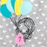 Ein Latzrock zum 1. Geburtstag