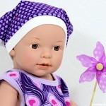 Puppenkleidung: Kunterbunte Niedlichkeiten selbstgenäht